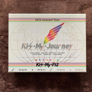 キスマイフットツー(Kis-My-Ft2)の2014ConcertTour Kis-My-Journey(初回生産限定盤) (ミュージック)