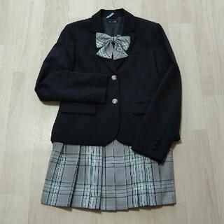ポンポネット(pom ponette)の【美品・クリーニング済み】卒業式 ジャケット165・スカート160・リボン(ドレス/フォーマル)