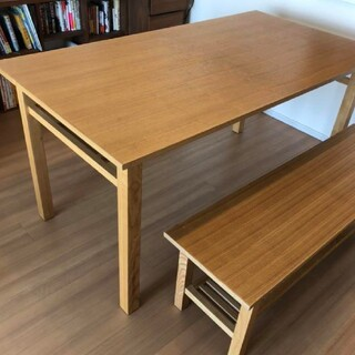 アクタス(ACTUS)のACTUS ダイニングテーブルとベンチセット(ダイニングテーブル)