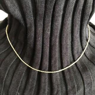 ミキモト(MIKIMOTO)のチェーン ゴールド ネックレス(ネックレス)
