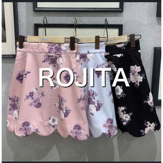 ロジータ(ROJITA)のロジータのスプリング花柄キュロット 花柄スカート(ひざ丈スカート)