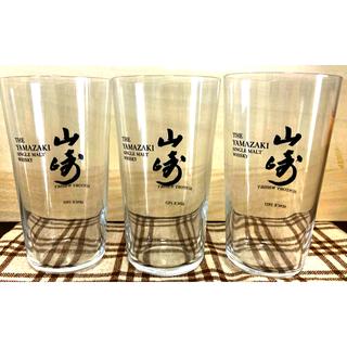 トウヨウササキガラス(東洋佐々木ガラス)の山崎グラス 3点セット  新品未使用箱入り (グラス/カップ)