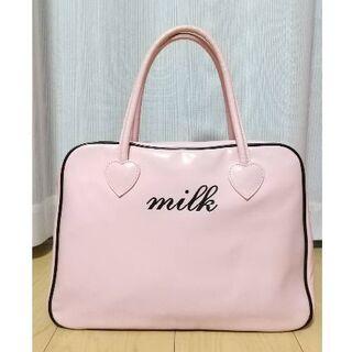 ミルク(MILK)のMILK ミルク バッグ ピンク(ハンドバッグ)