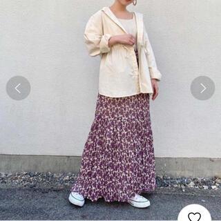 Kastane - カスタネ 花柄スカート