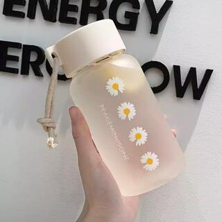 韓国 雑貨 ウォーターボトル 水筒 軽い 花柄 おしゃれ(水筒)