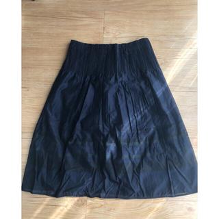 コムサイズム(COMME CA ISM)のフレアスカート コムサイズム(ひざ丈スカート)