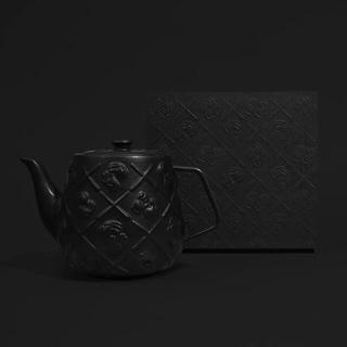 KAWS TEAPOT (BLACK) DDT Store カウズ(その他)
