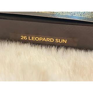 トムフォード(TOM FORD)のトムフォード アイカラークォード  26 LEOPARD SUN レオパードサン(アイシャドウ)