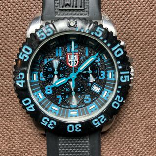 ルミノックス(Luminox)のLUMINOX ルミノックス 3180 ブルー クロノグラフ(腕時計(アナログ))