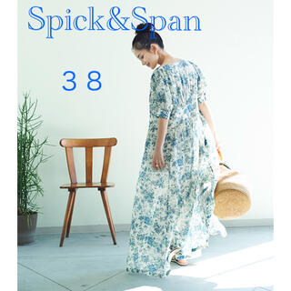 Spick and Span - 【美品】Spick and Span リバティードレス 38