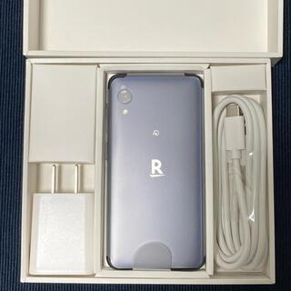 ラクテン(Rakuten)のRakuten mini(ナイトブラック) 32GB(スマートフォン本体)