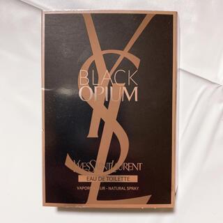 イヴサンローランボーテ(Yves Saint Laurent Beaute)のYSL ブラックOP グロウ オードトワレ 1.2ml(香水(女性用))