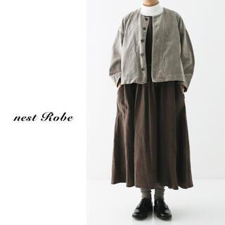 ネストローブ(nest Robe)のnest robe(ネストローブ)  コーデュロイショートジャケット(ノーカラージャケット)