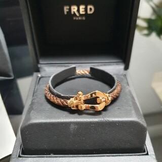 FRED - フレッドフォース10ピンクゴールド ブラウンケーブル