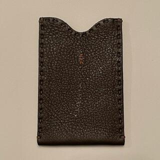 エンリーべグリン(HENRY BEGUELIN)のHENRY BEGUELIN エンリーベグリン iPhoneケース カード/パス(財布)