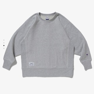 W)taps - グレーS  WTAPS CHAMPION CREWNECK SWEATSHIRT