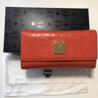 MCM - 【値下】MCM テラコッタカラー 長財布