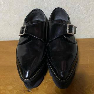 ムルーア(MURUA)のMURUA 厚底フラットシューズ(ローファー/革靴)