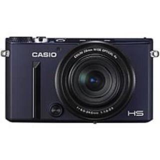 カシオ(CASIO)の【最終値下】CASIO EX-10 EXILIM ブラックブルー SD64GB付(コンパクトデジタルカメラ)