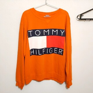 TOMMY HILFIGER - TOMMYHILFIGER トミーヒルフィガー スウェットM 90s 希少!