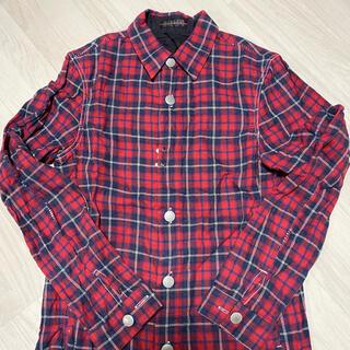 モルガン(MORGAN)のモルガンチェックシャツ(シャツ)
