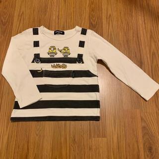 kladskap - クレードスコープ×ミニオン 重ね着風ミニ裏毛Tシャツ 100 長袖 ロンT