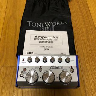 コルグ(KORG)のkorg ampworks/アンプシュミレーター(エフェクター)