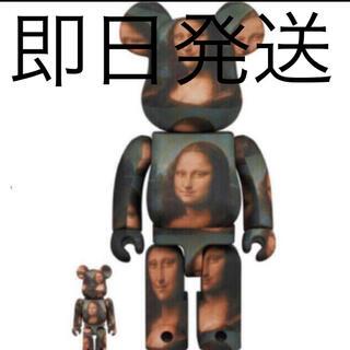 メディコムトイ(MEDICOM TOY)のBE@RBRICK Mona Lisa 100% 400%  モナリザ(その他)