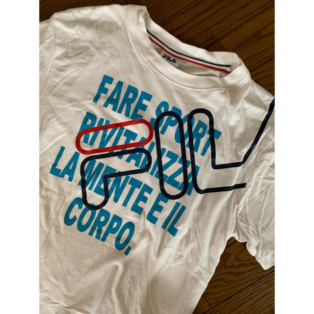FILA(フィラ)のFILA Tシャツ メンズM レディースのトップス(Tシャツ(半袖/袖なし))の商品写真