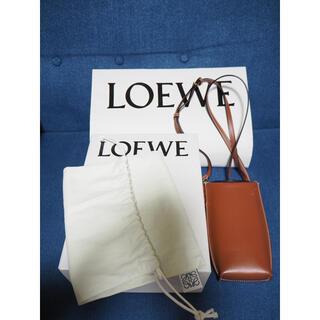 ロエベ(LOEWE)のLOEWE ロエベ Gate Pocket ゲートポケット ブラウン 美品(ショルダーバッグ)