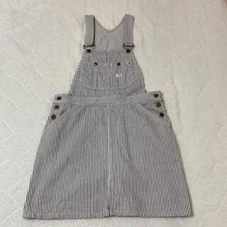 リー(Lee)のLee サロペットスカート(ひざ丈スカート)