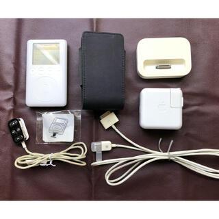 アイポッド(iPod)のiPod 正常動作品 第3世代 20GB M9244J(ポータブルプレーヤー)