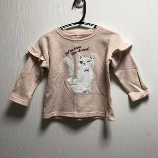 95サイズ ネコのトレーナー スウェット(Tシャツ/カットソー)