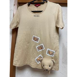 PINK HOUSE - ピンクハウス ♡  くまTシャツ