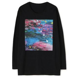 ヨウジヤマモト(Yohji Yamamoto)のGround Y×Mai Fukagawa 夢の中 ロングT ヨウジヤマモト(Tシャツ/カットソー(七分/長袖))