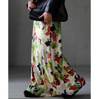 antiqua - antiqua♛花柄ロングスカート