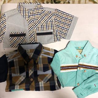 シャツ 男の子 90センチ(Tシャツ/カットソー)