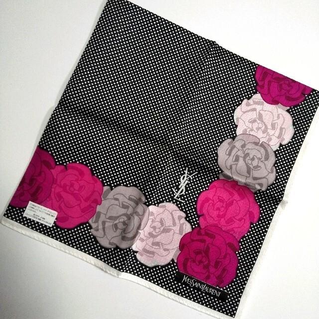 Saint Laurent(サンローラン)のイヴ・サンローラン ハンカチ レディースのファッション小物(ハンカチ)の商品写真