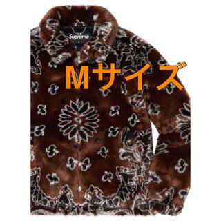 シュプリーム(Supreme)のSUPREME bandana faux bomber jacket 新品 M(ブルゾン)
