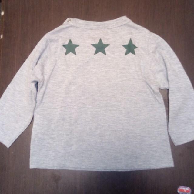 petit main(プティマイン)のpetit main 長袖Tシャツ 80 キッズ/ベビー/マタニティのベビー服(~85cm)(Tシャツ)の商品写真