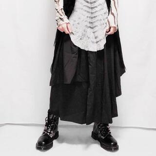 ヨウジヤマモト(Yohji Yamamoto)のスカート ドレープサルエル ワイドパンツ(その他)