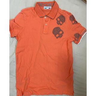 HYDROGEN - ハイドロゲン ポロシャツ オレンジ コーラル
