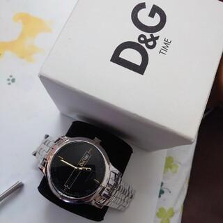 ドルチェアンドガッバーナ(DOLCE&GABBANA)のD&Gオックスフォード デイト Black(腕時計(アナログ))