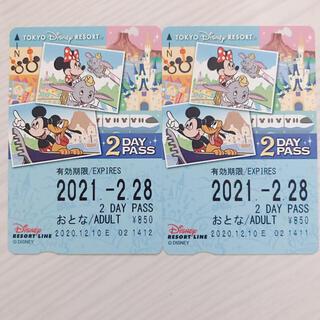 ディズニー(Disney)のディズニーリゾートライン フリー切符(遊園地/テーマパーク)