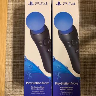 プレイステーションヴィーアール(PlayStation VR)のPlayStation move モーションコントローラー 2台(家庭用ゲーム機本体)