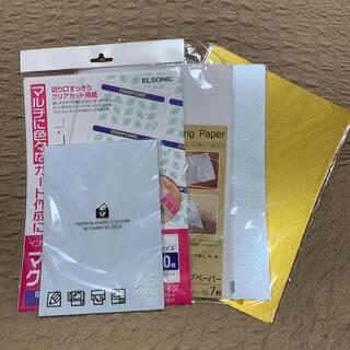 いろいろ用紙セット*色上質紙/名刺用紙/金銀画用紙/クラフト紙(その他)