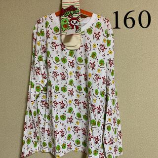 シマムラ(しまむら)のミホ様専用です。まいぜんシスターズ長袖シャツ160+靴下(Tシャツ/カットソー)