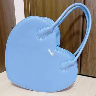 ミルク(MILK)のMILK ハートバッグ ラベンダー(ハンドバッグ)