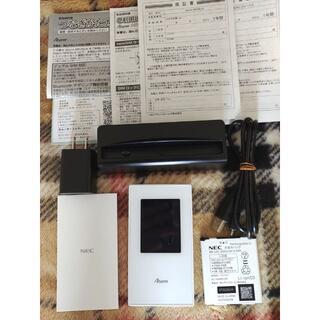 NEC - 【美品】NEC Aterm MR05LN クレードル付◆付属品完備◆最新ファーム