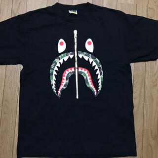 A BATHING APE - Bape Tシャツ abccamo シャーク XL